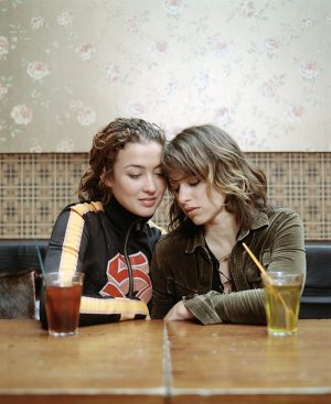 Katja Schuurman & Ellen ten Damme, Actress & Singer / Cafe Finch, Amsterdam) / Opzij Magazine