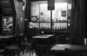 Bela Tarr, Film Director / Cafe 'De Engelse Reet' (Amsterdam)