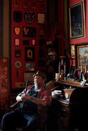 Henk Schiffmacher, Tattoo Artist / Tatoo Museum, Amsterdam) / MuseumVisie Magazine