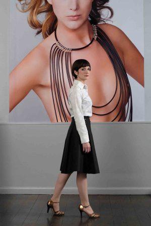 Catta Donkersloot, Fashion designer / Hair & make-up: Annemarie Schipperijn  / AvantGarde Magazine